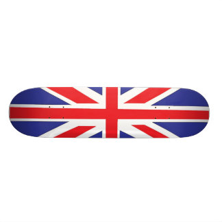Blam British Flag Skateboard