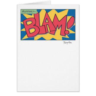 BLAM! CARD