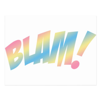 Blam! Postcard