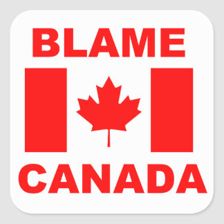 Blame Canada Sticker