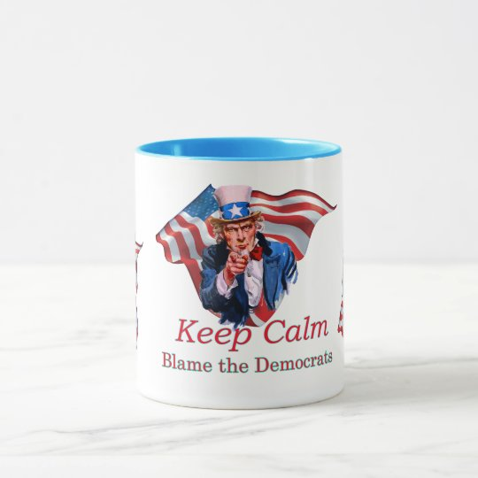 Blame the Democrats Mug