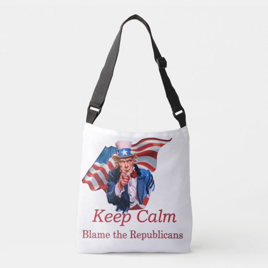 Blame the Republicans Crossbody Bag