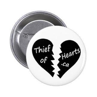 blanc de bouton d équipe de rue de thiefofhearts c badge avec épingle