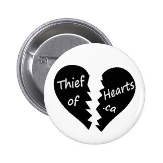 blanc de bouton d'équipe de rue de thiefofhearts.c badge avec épingle