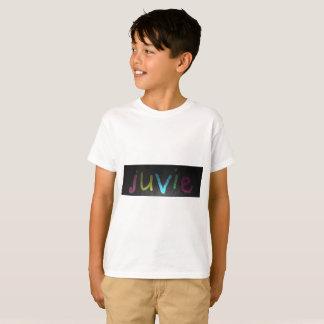 blanc de T-shirt de Hanes TAGLESS® des enfants de