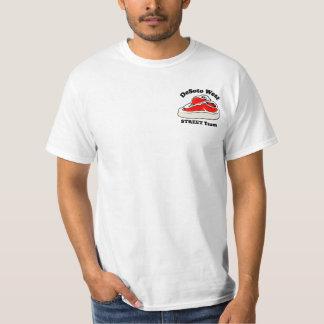 Blanc d'équipe de RUE Tee-shirt