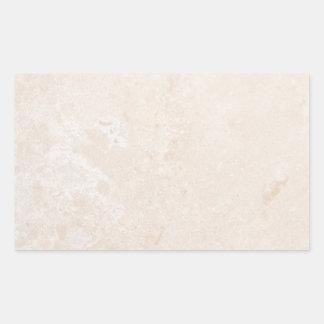 Blanc neutre en pierre de marbre d arrière - plan autocollants en rectangle