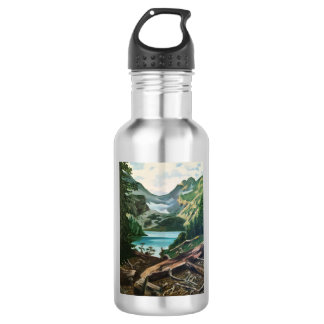 """Blanca"" Stainless Steel Water Bottle"