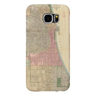Blanchard's guide map of Chicago Samsung Galaxy S6 Cases
