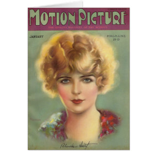Blanche Sweet Silent Star Card