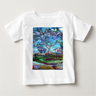 Blanco Texas Ranch House Baby T-Shirt