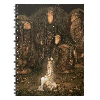 Bland Tomtar och Troll Spiral Notebooks