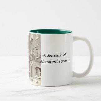 Blandford Forum Souvenir Mug