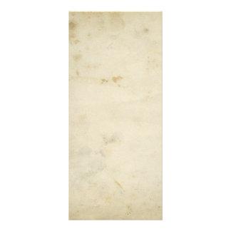 Blank Antique Aged Paper Custom Rack Card