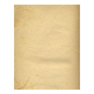 Blank Antique Stained 1880's Paper