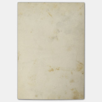 Blank Antique Stained Paper Post-it Notes