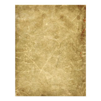 Blank Antique Stained Wrinkled Flyer
