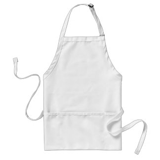 Blank apron template