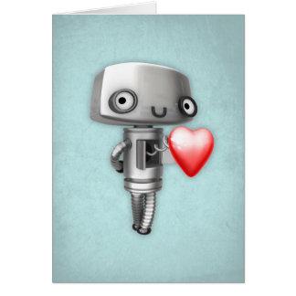 Blank Art Card - Robot Love