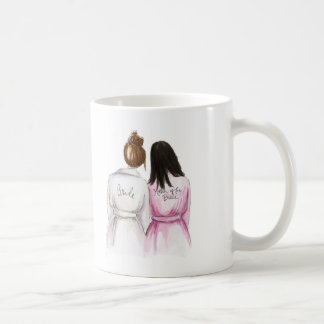 BLANK BACK Mug Auburn Bun Bride Bk Long Mom