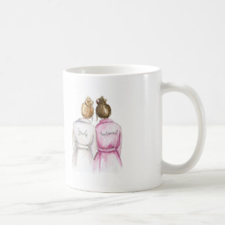BLANK BACK Mug Dk Bl Bun Bride Br Bun BM