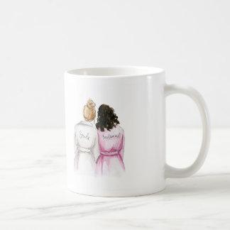BLANK BACK Mug Dk Bl Bun Bride Dk Br Curls BM