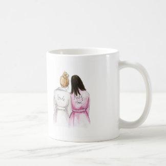 BLANK BACK Mug Dk Bl Bun Bride Dk Br Long MOH