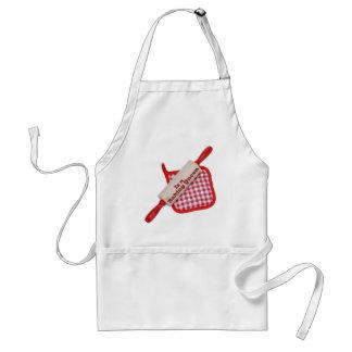 blank baking queen apron
