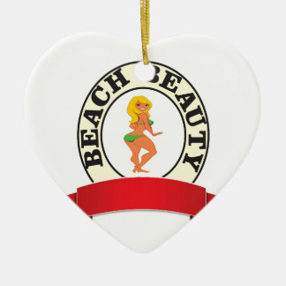 blank bb hot ceramic ornament
