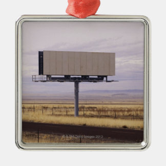 Blank Billboard Metal Ornament