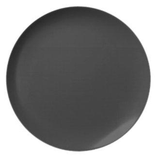 Blank Blackboard Party Plate