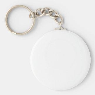 blank canvas basic round button keychain