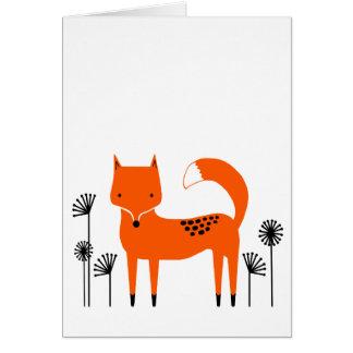 "Blank Card Original art work"" Fred the Fox"
