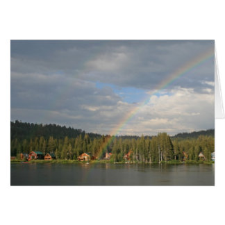 Blank Card, Rainbow Card