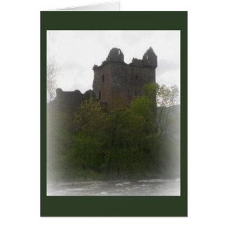Blank Card, Scottish Castle Card