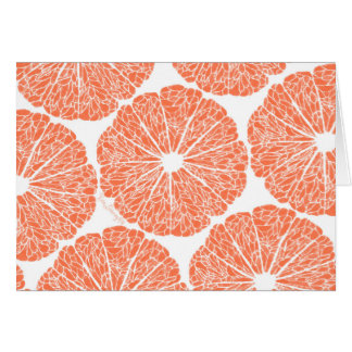 Blank Cards - Grapefruit to Suit