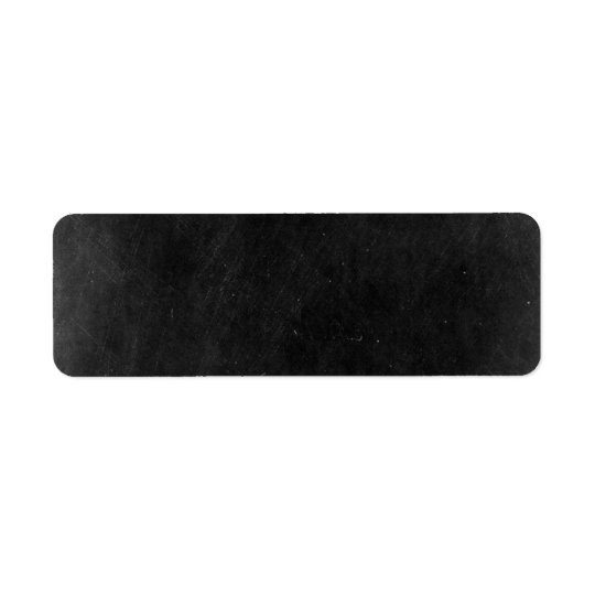 Blank Chalkboard - Customizable Product Packaging Return Address Label