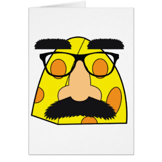 Blank Cheesy Humor Notecards Card