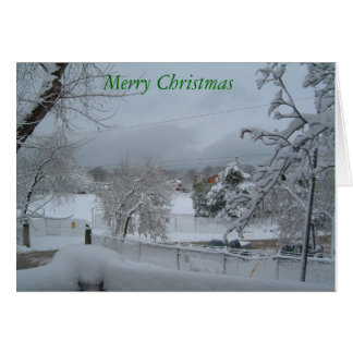 Blank Christmas Greeting Cards