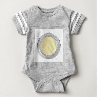 Blank coin baby bodysuit