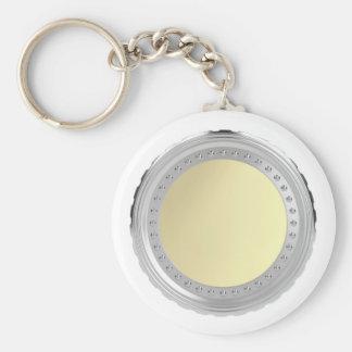 Blank coin keychain