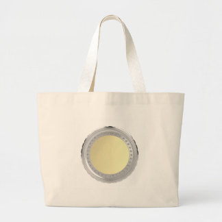 Blank coin large tote bag
