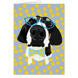 Blank Coonhound Card