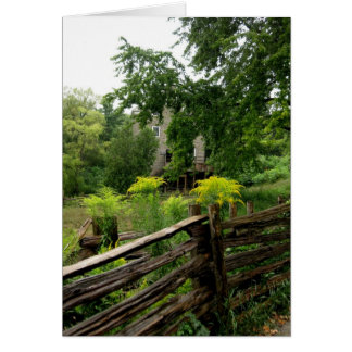 Blank-Country Fence Card