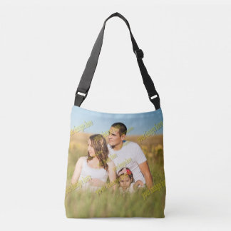 Blank Create Your Own Family Portrait Crossbody Bag