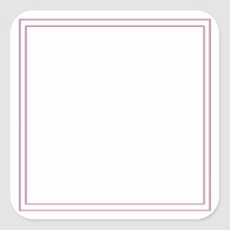 Blank DIY Template Party Giveaway add TEXT IMAGE Square Sticker