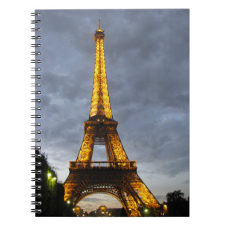 Blank Eiffel Tower Notebook