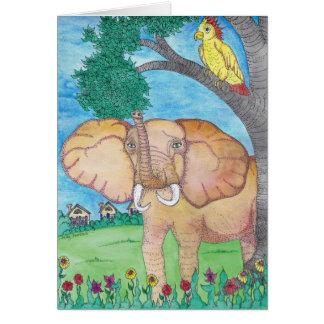 BLANK - Elephant Card