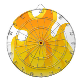 Blank Flame Icon Dartboards