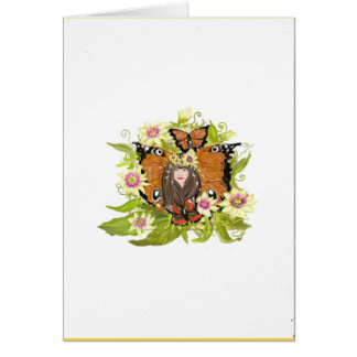 Blank greetings card for your own message